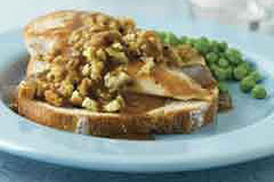 Smothered Chicken Sandwich Image 1