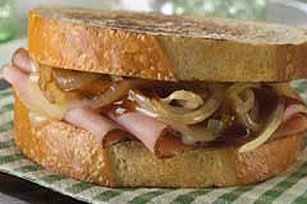 Smothered Ham 'n Cheese Griller Image 1