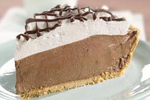 Snow-Capped Chocolate Pie Image 1