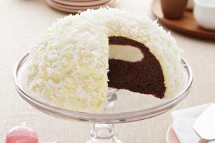 Snowball Chocolate Cake