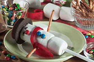 Snowman-on-a-Stick Image 1