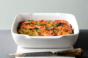 HEALTHY LIVING So-Easy Stuffing-Egg Bake Image 1