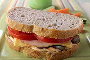 """Some Like it Hot"" Turkey Sandwich"