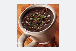 Sopa de frijoles negros con tocino Image 1