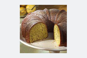Sour Cream-Poppy Seed Cake Image 1
