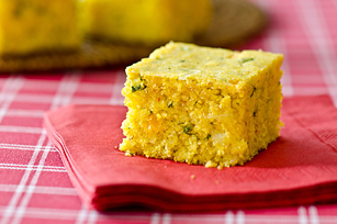 South-of-the-Border Cornbread
