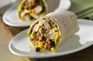 Southwest Chicken Salad Wrap Image 1