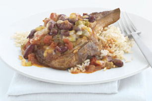 Southwest Pork Chops & Rice Image 1