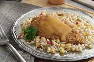 Southwest Chicken with Corn & Rice
