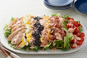 that cheddar cheese cobb salad cobb salad recipe layered cobb salad ...