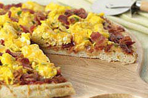 Southwestern Bacon & Eggs Pizza