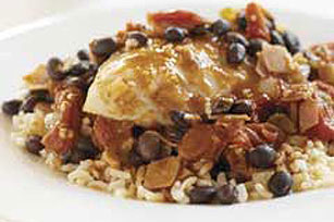 Southwestern Chicken with Black Beans & Rice