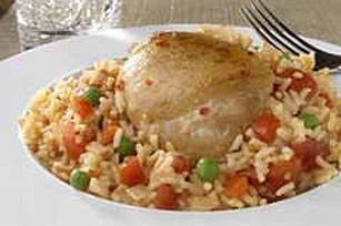 Spanish Chicken and Rice Image 1