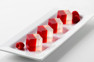 Reduced Sugar Sparkling Raspberry JIGGLERS Image 1
