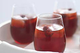Sparkling Raspberry-Cranberry Punch