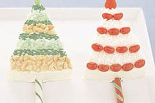 Sparkling Tree Cakes