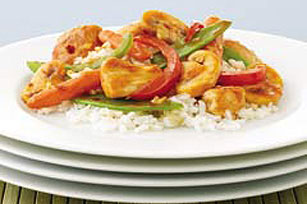 Speedy Sweet & Spicy Chicken Stir-Fry