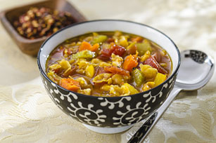 Spice-Market Chickpea & Vegetable Soup Image 1