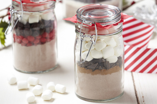 Spiced Hot Cocoa in a Jar