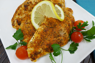Spiced Lemonade-Rub Chicken Breasts Image 1