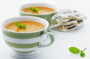 Spiced Red Lentil-Carrot Soup