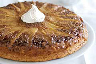 Spiced Pear Upside-Down Cake Image 1