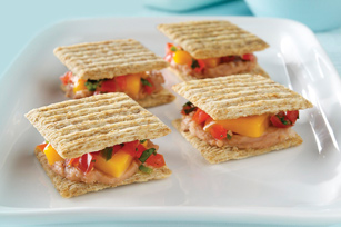 "Spicy Bean ""Quesadillas"" Image 1"
