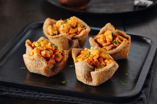 Spicy Chicken Bread Baskets