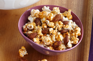 Spicy Popcorn with Nuts