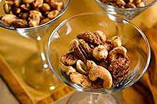 Spicy Coated Nuts