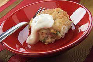 Southern-Style Crab Cakes with Cool Lime Sauce Image 1