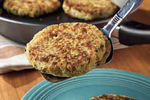 Spicy Pecan Crab Cakes