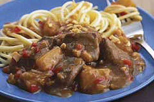 Spicy Pineapple-Beef Stew Image 1