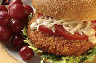 Spicy Ranch Chik'n Sandwich Image 1