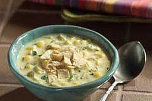 Spicy Southwest Corn-Cheese Soup Image 1