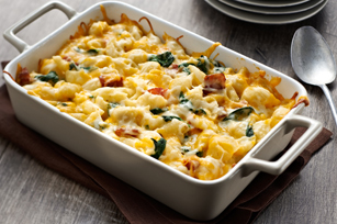 Spinach & Bacon Pasta Bake Image 1
