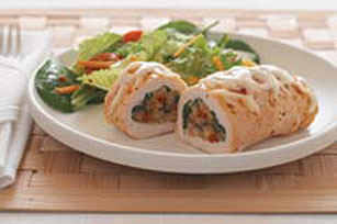 Spinach-Stuffed Chicken Breasts Image 1