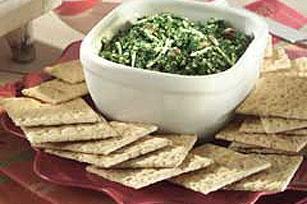 Spinach Mozzarella Bites