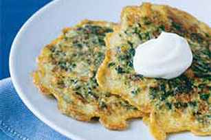 Spinach Pancakes Image 1