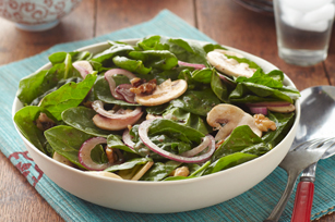 Spinach and Mushroom Salad Image 1