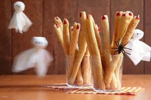 Spooky Breadstick Fingers