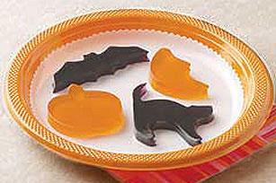 Terroríficos trozos de gelatina para Halloween