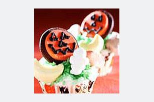 Spooky Pumpkin Cupcakes