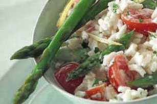 Spring Vegetable-Rice Salad