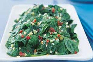 Springtime Sauteed Spinach Image 1
