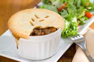 Pâtés au bifteck et aux champignons