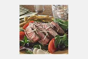 Steak and Spinach Romano Cheese Salad Image 1