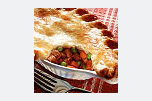 Vegetable and Beef Pot Pie