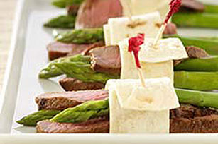 Steak & Asparagus Wraps