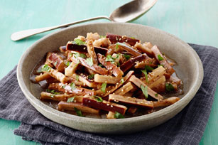 Steamed Eggplant with Balsamic Vinaigrette Image 1